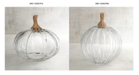 Pier 1 Imports Recalls Decorative Glass Pumpkins