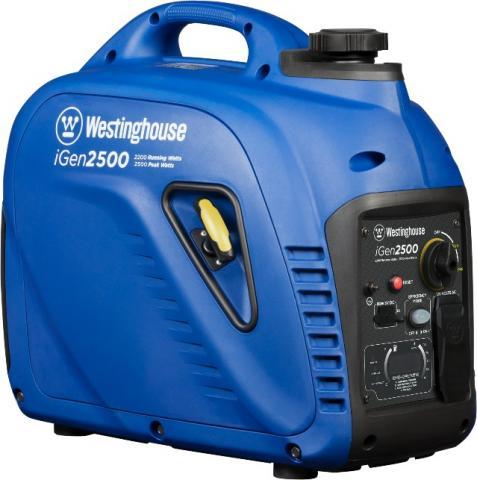 Recalled Westinghouse iGen2500 Portable Inverter Generator