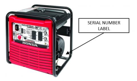 EB2800i portable generator