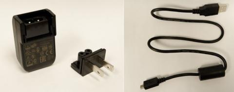 Power adapter, recalled power adapter wall plug and USB cable