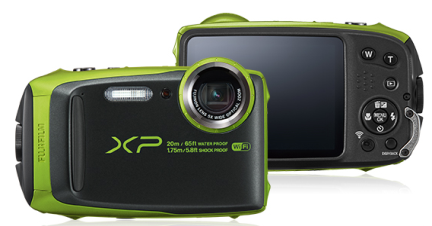 Model XP125 digital cameras sold with recalled power adapter wall plugs
