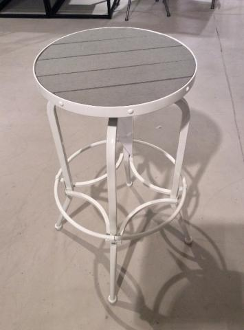 Recalled Collin bar stool in white