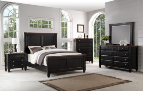 Recalled Avalon Cottage Town Collection in Black
