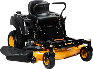 Recalled Poulan Pro zero turn mower