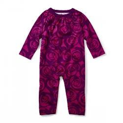Shocking Fuschia Roses Romper, Style Number: 7F32504