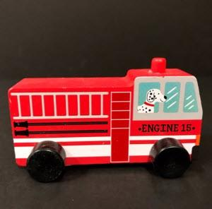 Bullseye's Playground Toy Vehicles – Fire Truck