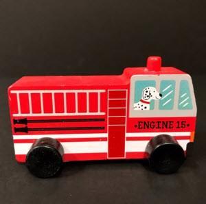 Bullseye's Playground Toy Vehicles – Fire Truck
