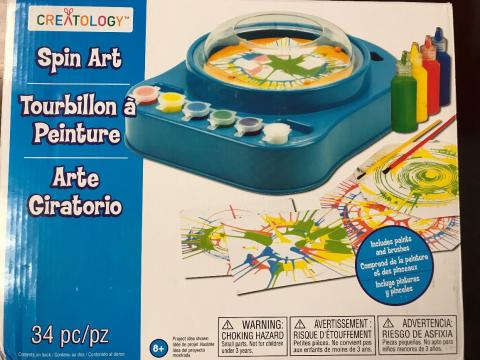 Michaels Recalls Spin Art Kits