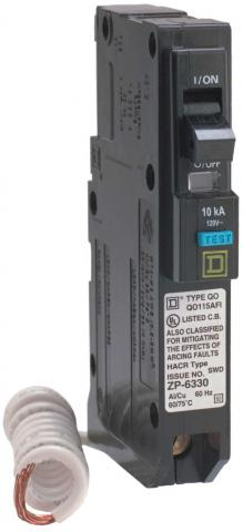 QOAFI CIRCUIT BREAKER- Test Button is BLUE on Recalled Circuit Breakers