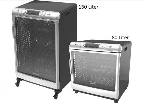 Cabela's 160-liter and 80-liter food dehydrators