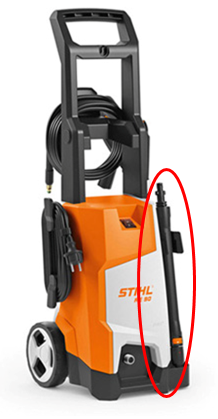 Recalled STIHL RE 90 Pressure Washer with Spray Wand