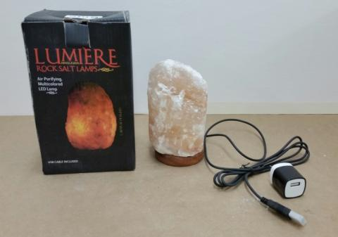 Carnival of Lights Lumiere Rock Salt Lamp