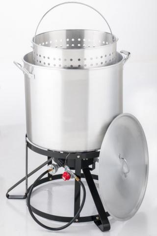 Outdoor Gourmet ® 100 Qt. Crawfish Kit with strainer