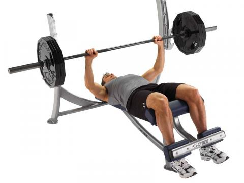 Olympic Decline Free Weight Bench