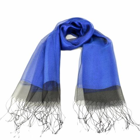 DG women's scarf – blue