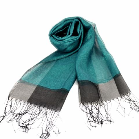 DG women's scarf – green