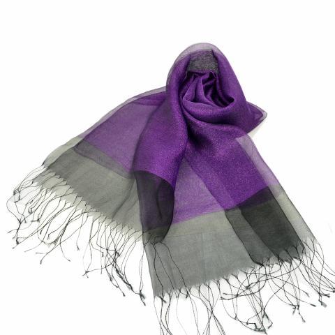 DG women's scarf – purple