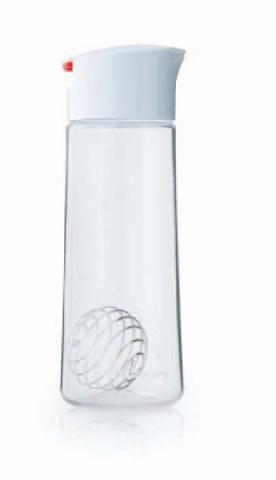 Whiskware™ glass dressing shaker bottle