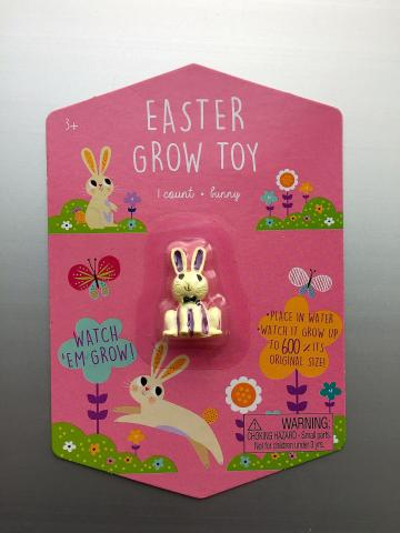 Easter Grow Toy—White Bunny