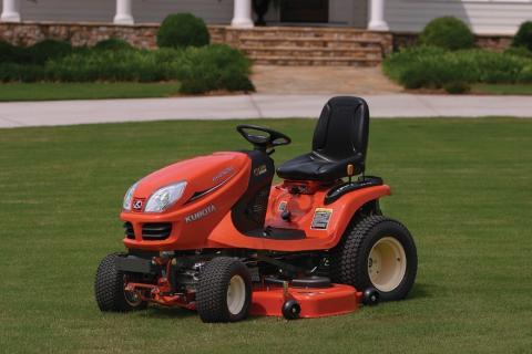 GR model mower