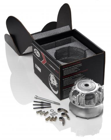 G-Force CVT clutch with packaging