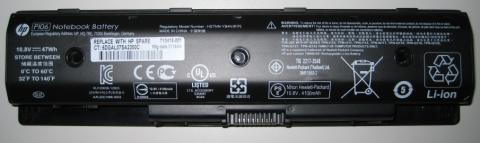 HP Notebook computer battery
