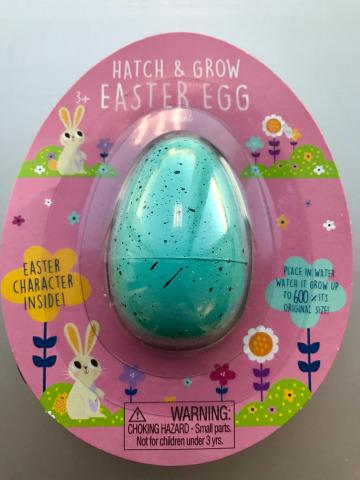 Hatch & Grow—Blue Easter Egg