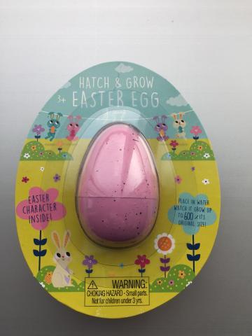 Hatch & Grow—Pink Easter Egg