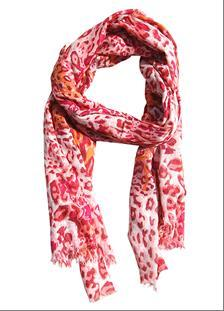 Hot Red Fashion Scarf for Girls and Women – Trendy and Designer Scarves
