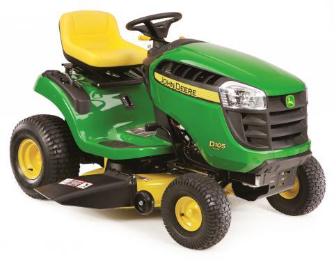 Recalled John Deere D105 lawn tractor