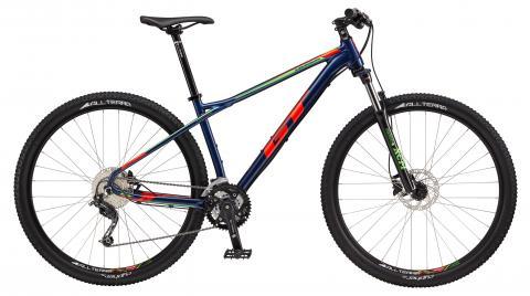 "2017 Karakoram Comp, 29"" wheel, blue GT Mountain bicycle"