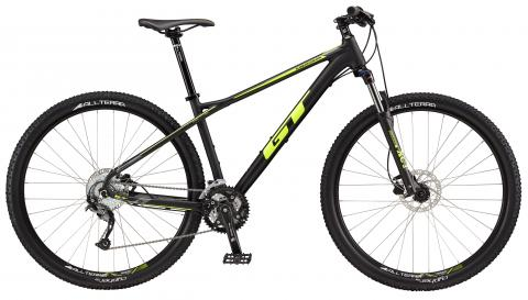 "2017 Karakoram Sport, 29"" wheel, black GT Mountain bicycle"