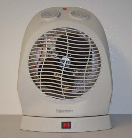 Sears Kmart Kenmore oscillating fan heater