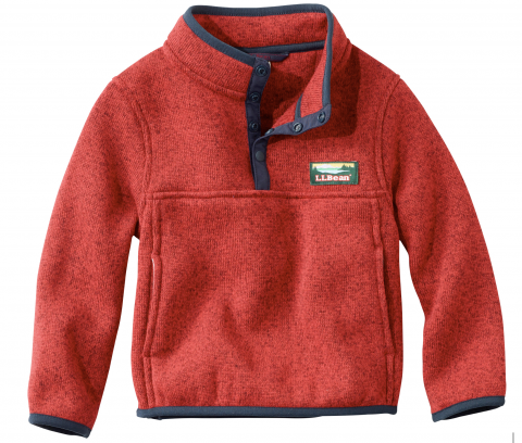 L.L. Bean toddler sweater fleece pullover