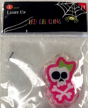 Pink Skeleton LED Gel Cling