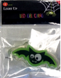 Green and Black Bat LED Gel Cling