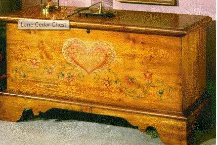 Recalled Lane Cedar Chest