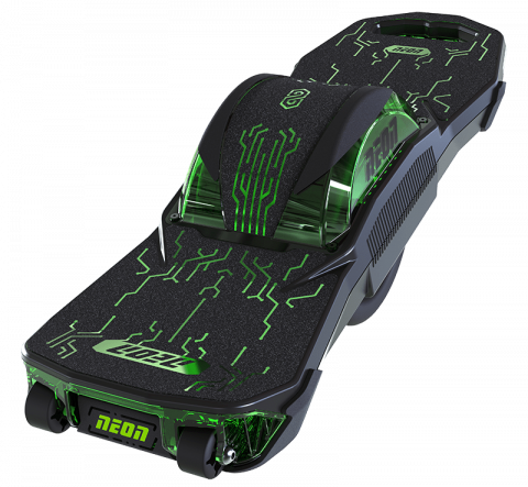 Neon Nitro 8 one wheel electric skateboard (top view)