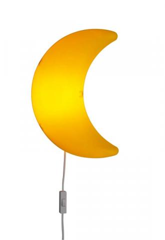 IKEA yellow moon MÅNE wall-mounted children's lamp