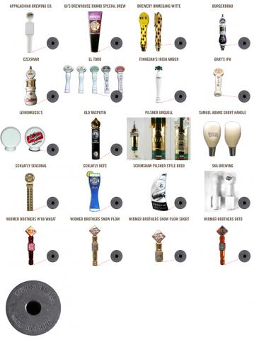 Taphandles Ceramic Beer Tap Handles