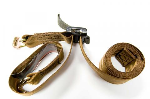 Picture of recalled treestand strap assembly