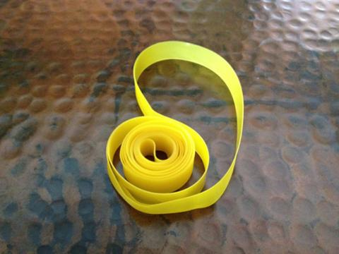 Picture of recalled FLO cycling rim tape