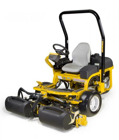 Picture of recalled Hustler 1500 Riding Greens lawnmower
