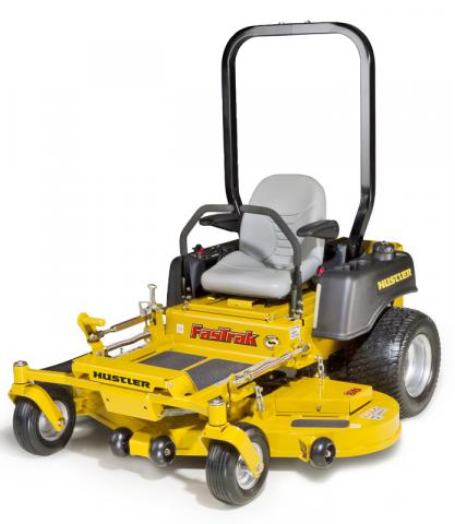 Picture of recalled Hustler FasTrak lawnmower
