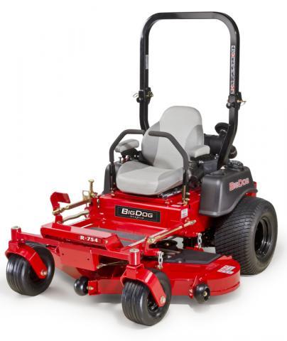 Picture of recalled BigDog R Diablo lawnmower