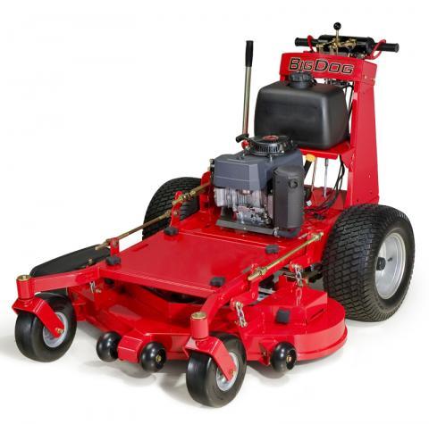 Picture of recalled BigDog T Series lawnmower