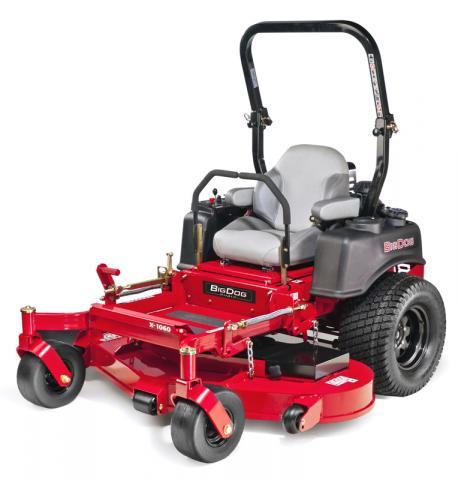 Picture of recalled BigDog X Diablo lawnmower