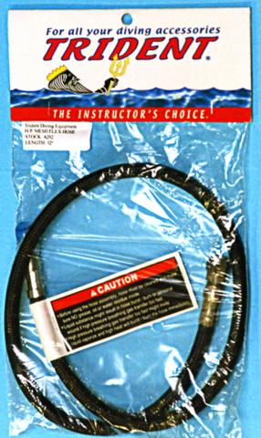 Trident Scuba air hose in packaging