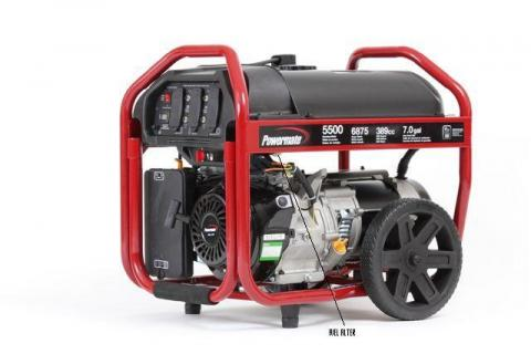 Powermate Generator w/fuel filter identification