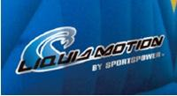 """The """"Liquid Motion by Sportspower"""" logo is on recalled waterslides"""